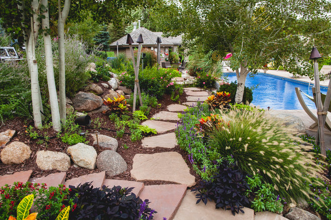 Tropical Landscape by Sun Valley Landscaping