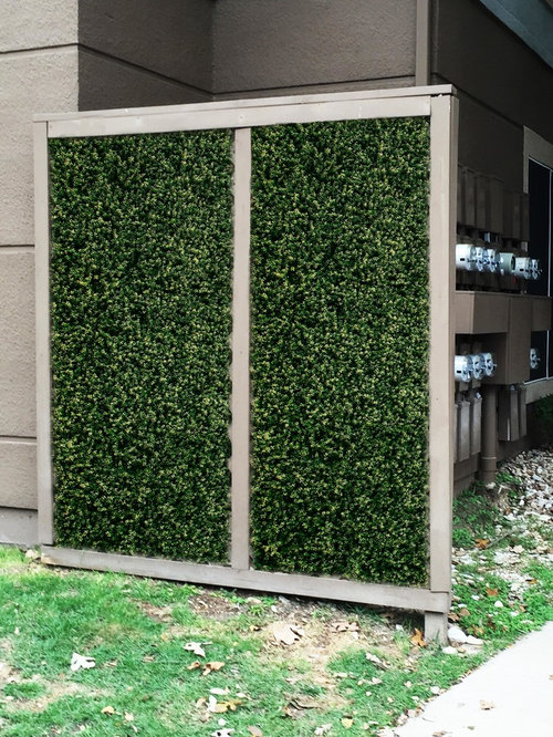 Backyard Electric Privacy Fence Artificial Hedge Panels More Info