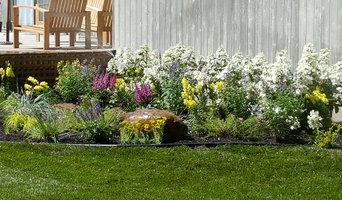 Backyard Makeover Installing Sod, Privacy Hedge, Flower Garden, Gravel Driveway