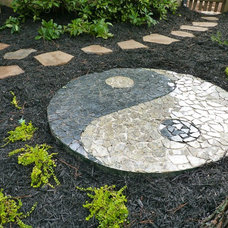Asian Landscape by Outdoor Makeover