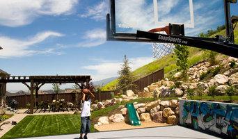 Backyard Multi Sport Outdoor Game Court