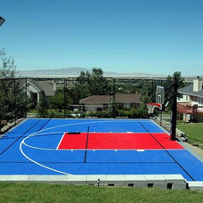 Contemporary Landscape by SnapSports® Athletic Floors & Courts