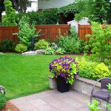 Traditional Landscape by From The Ground Up Designs