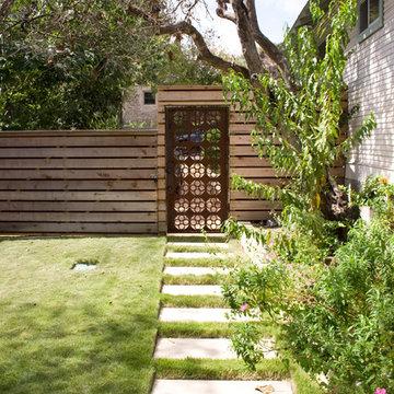 Backyard Office and Courtyard