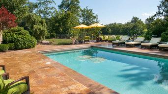 Backyard Patio & Pool Renovation, Bar, Fire & Water Features