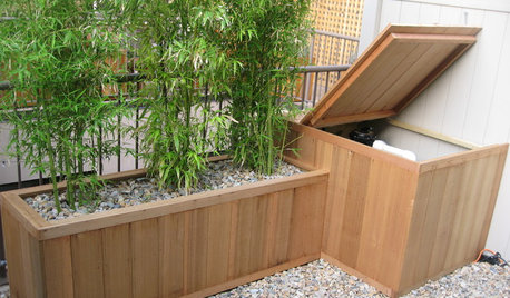 Creative Ways to Disguise Your Rubbish and Recycling Bins
