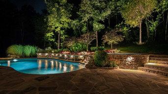 Backyard Pool and Patio Lighting Project