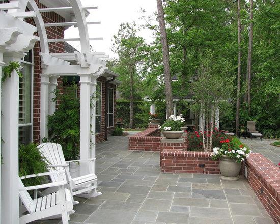 bluestone patio | houzz - Bluestone Patio Ideas