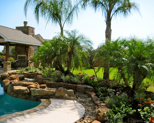 Tropical houston landscape ideas designs remodels photos for Landscape design houston