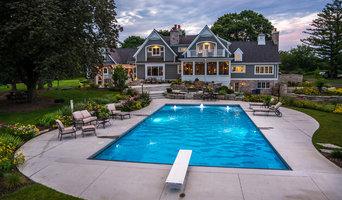 Backyard Pool, Patio, Perennials, and FUN in Barrington, IL