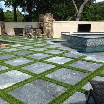 Backyard Poolside