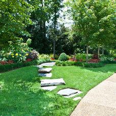 Contemporary Landscape by Gurley's Azalea Garden