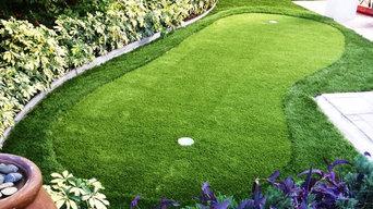 Backyard Putting Green After