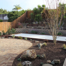 Contemporary Landscape by Full Circle Design & Remodeling