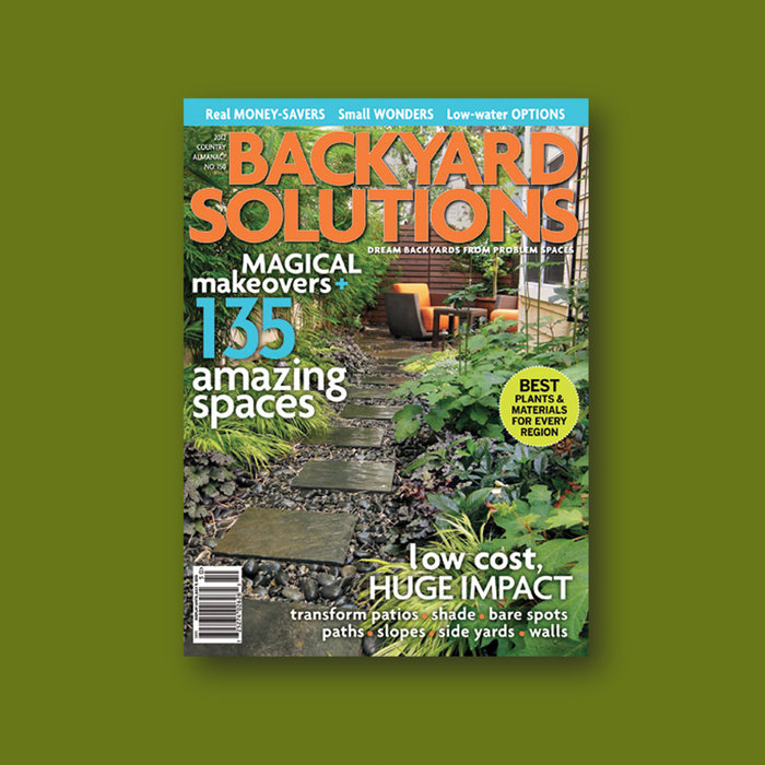 Backyard Solutions Magazine (2012)