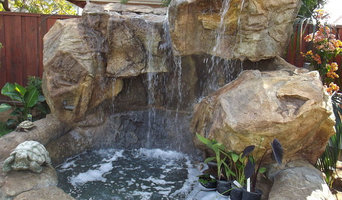 Backyard Water Features NH, Waterfalls NH, Grottoes NH. Outdoor Living Systems -