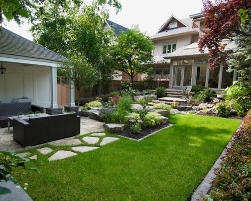 Houzz modern toronto landscape design ideas remodel for Garden design ideas toronto