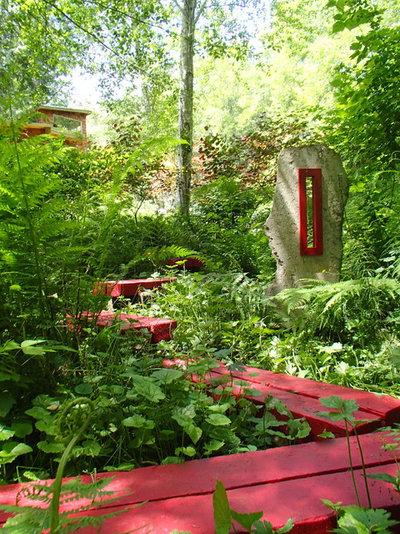 エクレクティック 庭 by Aaron G. Edwards Landscape Architect