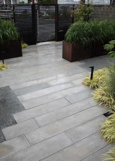 Precast Concrete Pavers Make a Versatile Surface for the ... on Modern Concrete Backyard id=52210