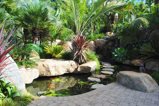 Contemporary Landscape by Nature Designs Landscaping