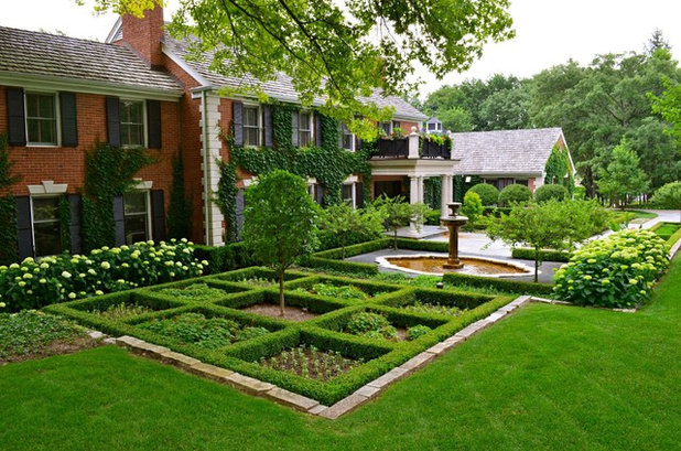 Traditional Garden by Doering Landscape Company