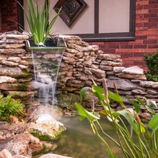 Traditional Landscape by DRM Design Group Landscape Architecture & Planning