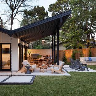 オースティンのコンテンポラリースタイルのおしゃれな庭の写真