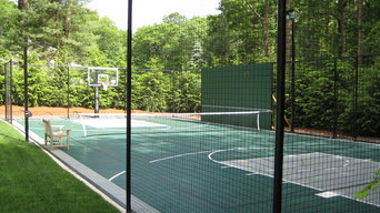 Basketball and Tennis Court in Weston