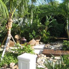 Tropical Landscape by J. E. TUCKER, INC.