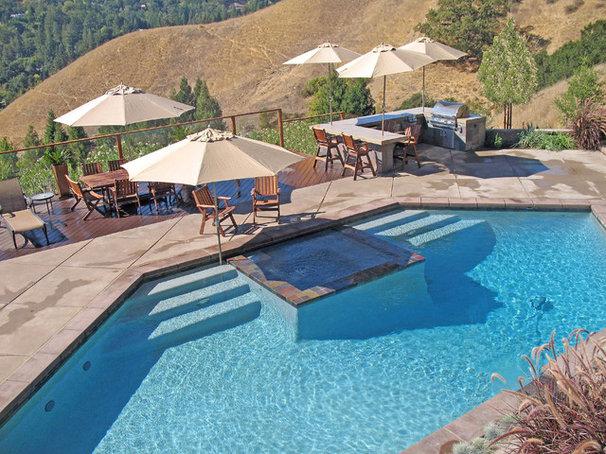 Modern Landscape by Alder Group, Pool and Landscape Co.