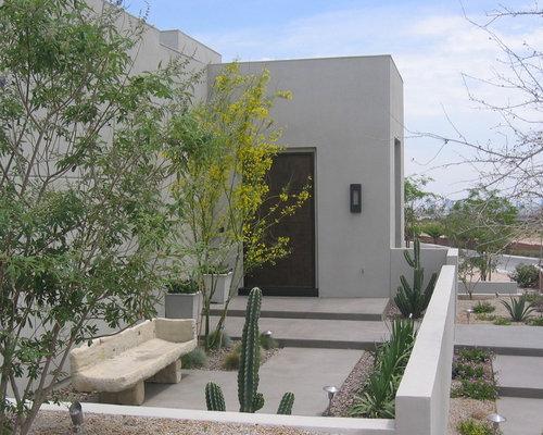 Best modern desert landscape design ideas remodel Modern desert landscaping ideas