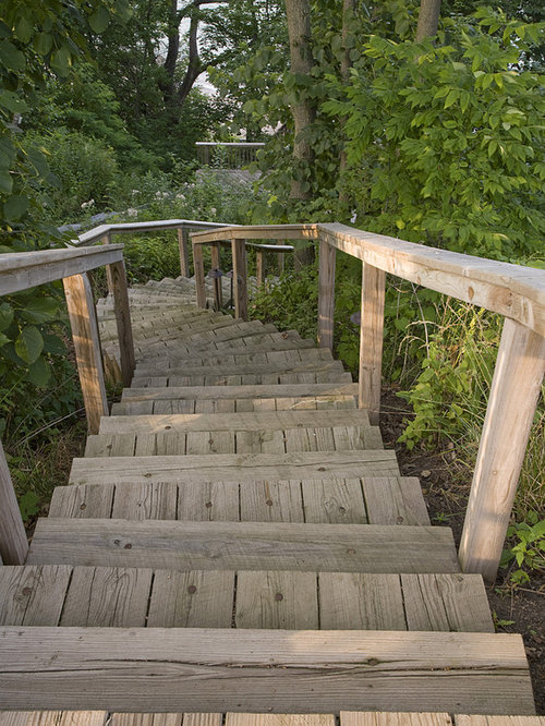 Old stairs home design ideas pictures remodel and decor for Landscape stairs design