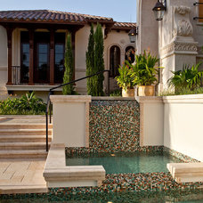 Mediterranean Landscape by Kurtz Homes Naples