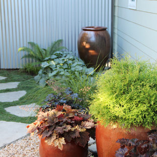 This is an example of a beach style landscaping in Seattle.
