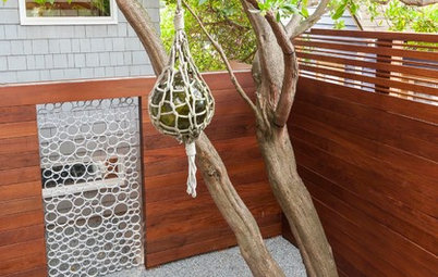 A Designer Uses PVC Pipe to Cast a Modern Garden Gate