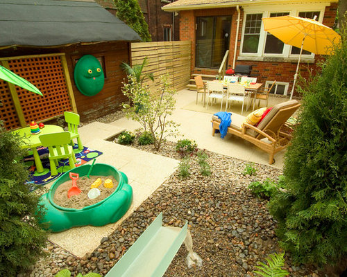 Backyard Landscaping Ideas Kid Friendly : Kid friendly backyard ideas houzz