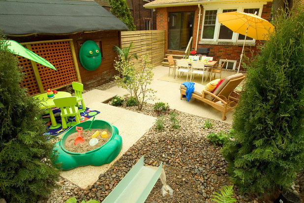 eclectic garden by carson arthur design - Garden Design Child Friendly