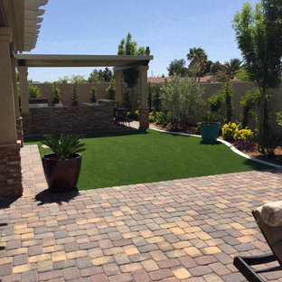 las vegas landscaping ideas tropical design ideas for midsized traditional full sun backyard brick landscaping in las vegas 75 most popular backyard landscaping ideas 2018