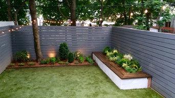 Bed-Stuy Townhouse Backyard Garden