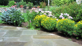 Bedford terrace,spa and plantings