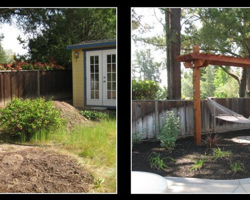 Before and after landscaping houzz - Garden design before and after ...