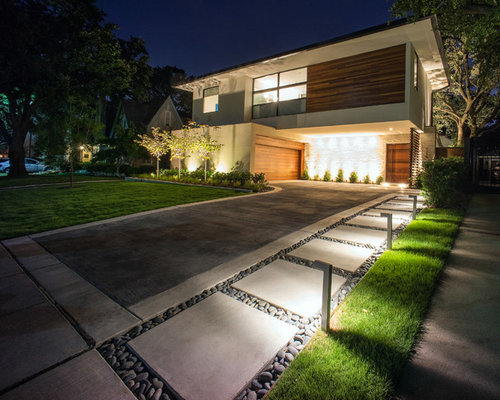 Home Driveway Design Ideas: Modern Driveway Design Ideas, Renovations & Photos