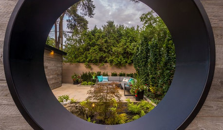 4 Gardens With Creative Outdoor Room Dividers