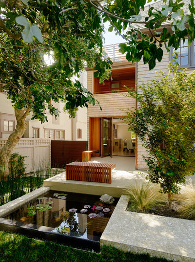Contemporain Jardin by Charles Debbas Architecture