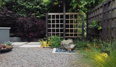 A Tranquil Front Yard Retreat for an Urban Garden