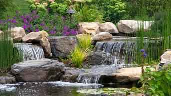 Berks County, PA Pond & Waterfalls