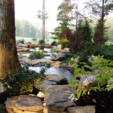 Traditional Landscape by Acadia Design Group