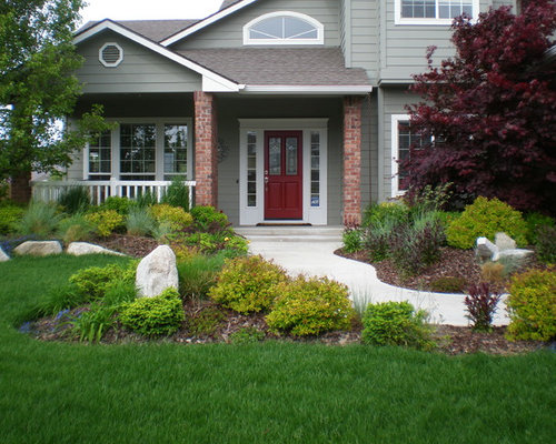 Traditional boise landscape design ideas remodels photos for Landscape design boise