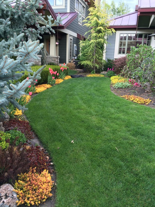 Craftsman boise landscape ideas designs remodels photos for Landscape design boise
