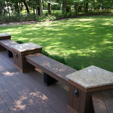 Contemporary Landscape by Deck Remodelers.com